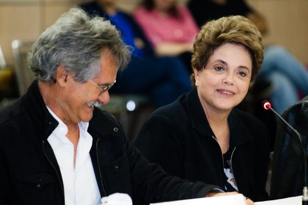 Reunião do Conselho Curador da Fundação Perseu Abramo com a presença da ex-presidenta Dilma. Data:02/12/2016. Local: São Paulo.