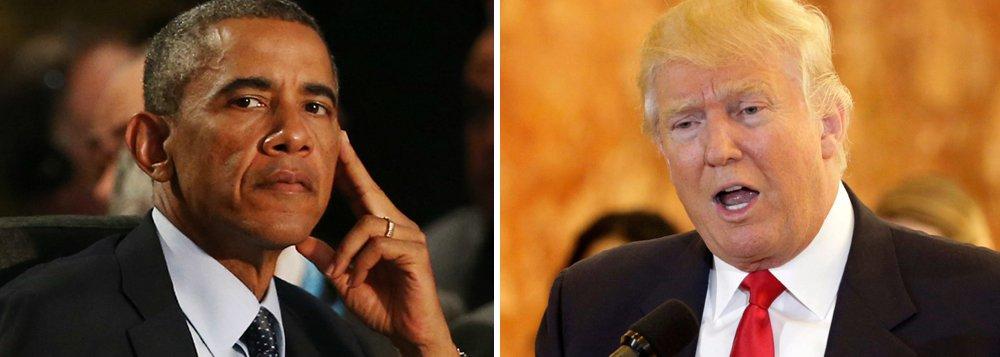Presidente dos Estados Unidos, Barack Obama, telefonou para o republicano Donald Trump para parabenizá-lo pela vitória nas eleições; atual líder do governo convidou seu sucessor para uma reunião sobre a transição de poder em Washington nesta quinta-feira, 10