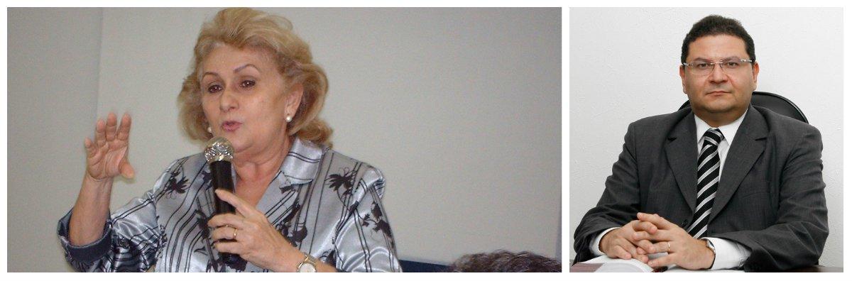 A procuradora de Justiça Socorro França será a nova titular da Secretaria da Justiça e Cidadania (Sejus). O anúncio foi feito na manhã desta sexta-feira (6) pelo governador Camilo Santana. Ela substitui o advogado Hélio Leitão, que este por dios anos à frente da secretária.Socorro França tem como uma das principais tarefas controlar a situação nos presídios do Ceará