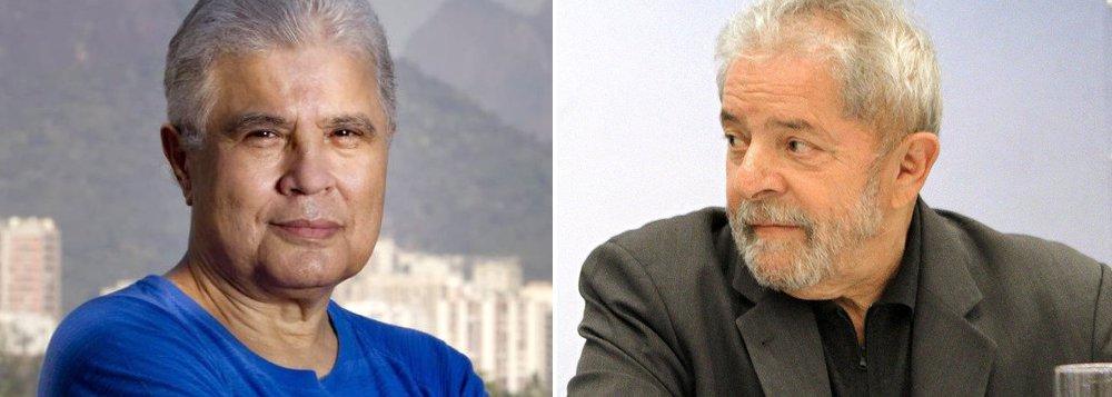 """""""Se prenderem Lula, tudo bem"""", diz o jornalista Ricardo Noblat, do Globo, grupo de comunicação que tem liderado a cruzada contra o ex-presidente; segundo Noblat, haveria uma pesquisa secreta apontando suposto apoio da população a tal iniciativa; por diversas vezes, no entanto, investigadores da Lava Jato negaram que Lula esteja sob investigação; segundo o jornalista do Globo, Lula estaria até com 'medo de dormir em casa'"""