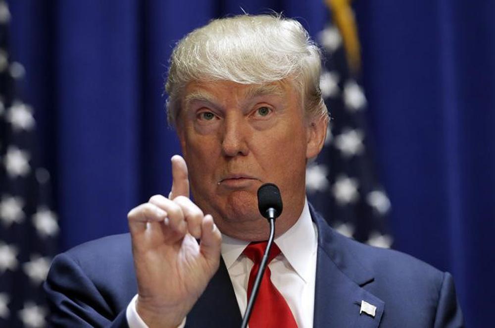 Pré-candidato à Presidência dos EUA Donald Trump. 16/06/2015  REUTERS/Brendan McDermid
