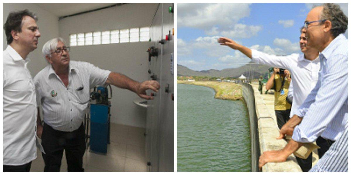 O governador Camilo Santana acionou, na manhã desta terça-feira (29), o bombeamento do Sistema Adutor da Barragem do Maranguapinho. A ação é parte do Plano de Segurança Hídrica da Região Metropolitana de Fortaleza. A intervenção adicionará 200 litros de água por segundo ao sistema que terão como destino a estação de bombeamento já existente em Maranguape, seguindo para a Estação de Tratamento de Água (ETA) da cidade, onde serão tratadas e, posteriormente, distribuídas pela Cagece para os sistemas de Maranguape, Sapupara e Amanari