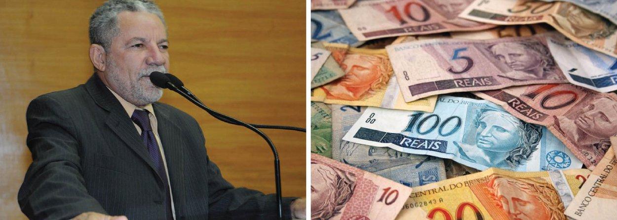 Diante da frustração de receita de R$ 35 milhões do Fundo de Participação dos Estados (FPE) para Sergipe neste mês, o governo não terá condições de pagar o 13º salário dos servidores estaduais, como havia previsto; para contornar tal problema, o Poder Executivo enviou à Assembleia Legislativa um projeto de lei que autoriza a concessão de um abono no valor de 12% sobre a parcela do 13º salário para que os servidores possam contrair empréstimo junto ao Banco Estadual de Sergipe e ao Banco do Brasil no valor correspondente ao benefício; o abono é para cobrir os custos do empréstimo; o projeto será votado na terça (15); a informação foi divulgada pelo líder da bancada governista na Alese, deputado estadual Francisco Gualberto (PT)