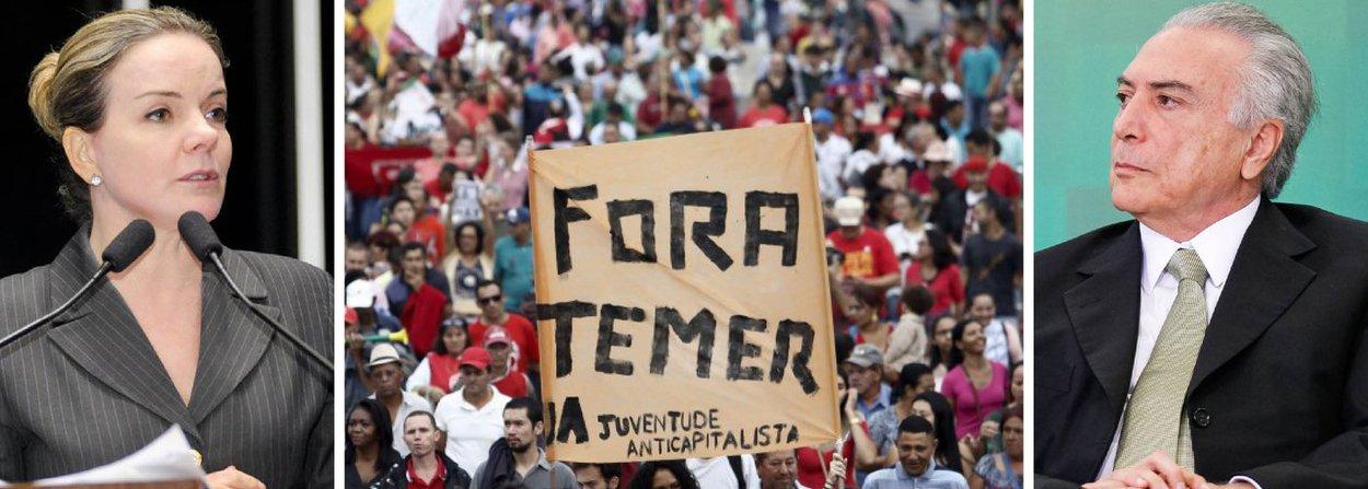 """""""Independente do que se diga ou do que se prove, a maioria votará pelo afastamento definitivo da Presidenta"""" na comissão do impeachment, prevê a senadora Gleisi Hoffmann (PT-PR), que acredita que esse resultado pode ser alterado no plenário; """"Estamos e vamos trabalhar muito para isso. Mas teremos de ficar atentos a outra ofensiva golpista no curto prazo, que é o desmantelamento dos direitos dos trabalhadores e o ataque aos programas sociais conquistados pela sociedade brasileira nos últimos anos"""", critica; """"O Estado mínimo de bem-estar social assegurado na Constituição de 1988 está em risco. Enquanto se debate o impeachment e radicaliza-se na disputa política, medidas são urdidas para satisfazer o mercado, que maximiza lucros e resultados acima da vida das pessoas"""", afirma"""