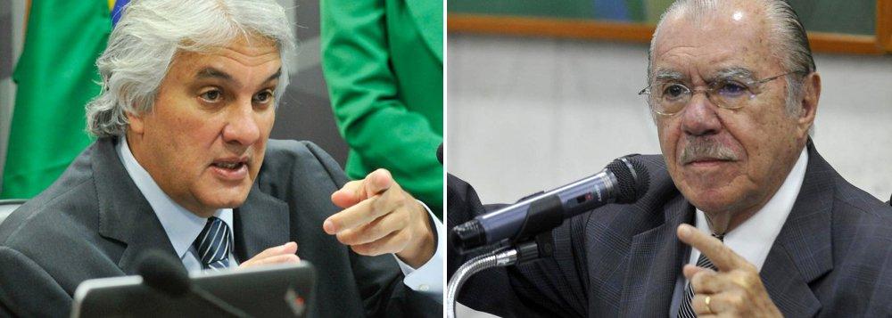 """Em delação premiada homologada pelo Ministro do STF Teori Zavaski, o senador Delcídio do Amaral afirmou o ex-ministro de Minas e Energia Silas Rondeau, ligado ao ex-senador José Sarney, coordenou recebimento de R$ 30 milhões em propinas para a construção da Usina de Belo Monte; """"Rondeau destinou ditas propinas para o grupo de José Sarney, do qual fazem parte (o ex-ministro de Minas e Energia) Edison Lobão, o próprio Silas Rondeau, Renan Calheiros, Romero Jucá, Valdir Raupp e Jader Barbalho"""", diz a delação; grupo Sarney dominou por quase 50 anos a política no Maranhão"""