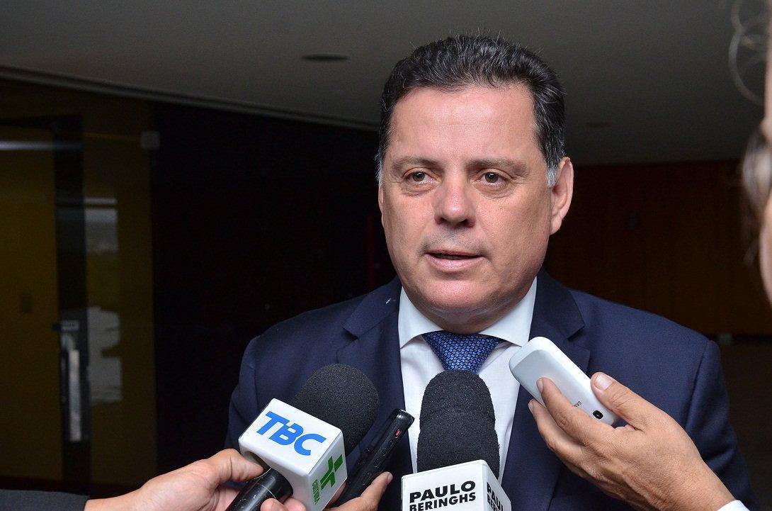 Brasilia-Governador Marconi Reune com Ministro da Casa Civil Aloizio Mercadante Oliva e Representantes dos Estados do MS,MT,SP Fotos Eduardo Ferreira