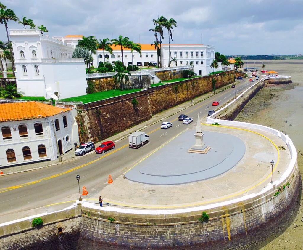 Pedra da Memória é um dos monumentos recuperados com as obras realizadas pelo Governo e Prefeitura. Foto: Divulgação