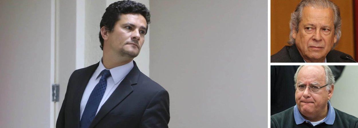 Juiz federal Sérgio Moro recebeu uma nova denúncia contra o ex-ministro José Dirceu, que já foi condenado pelo magistrado em outro processo, e o ex-diretor de serviços da Petrobras Renato Duque, pelos crimes de corrupção e lavagem de dinheiro; na nova acusação, a Procuradoria Geral da República acusa Dirceu de ter recebido R$ 2 milhões em propinas desviadas da Petrobras; outras cinco pessoas também viraram rés no processo