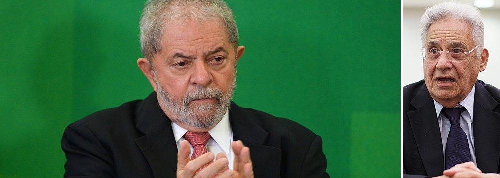 """""""O destino de Lula envolve um ponto-chave no futuro das liberdades democráticas do país. Cidadão que não é réu em nenhum processo, nem passou por uma condenação pela qual poderia ser enquadrado na Lei Ficha Limpa, ele está sendo impedido de assumir um ministério em função da suspeita alimentada por seus adversários políticos de que tudo não passaria de um truque para fugir das investigação da Lava Jato - coisa fácil de falar e difícil de provar"""", aponta Paulo Moreira Leite, colunista do 247; jornalista lembra que, """"em 2002, quando se preparava para deixar o governo, Fernando Henrique Cardoso apoiou e sancionou lei 10.628, que previa foro privilegiado automático para ex-presidentes e ex-ministros. Na época, FHC dizia-se preocupado com casos de 'perseguição política'"""""""