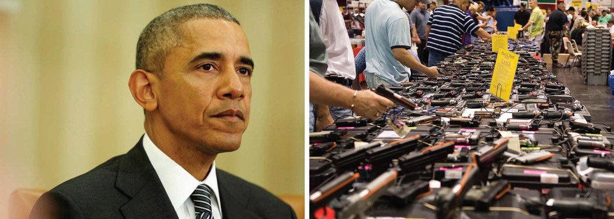 """Casa Branca acusou senadores dos Estados Unidos nesta terça-feira de uma """"exibição vergonhosa de covardia"""" e disse que eles falharam com o povo norte-americano ao não adotar medidas de controle de armas após o pior ataque a tiros da história moderna dos EUA em Orlando, na Flórida, na semana passada; """"A violência das armas exige mais que momentos de silêncio"""", disse o presidente dos EUA, Barack Obama; """"Ela exige ação. Ao fracassar neste teste, o Senado fracassou com o povo norte-americano"""", completou"""