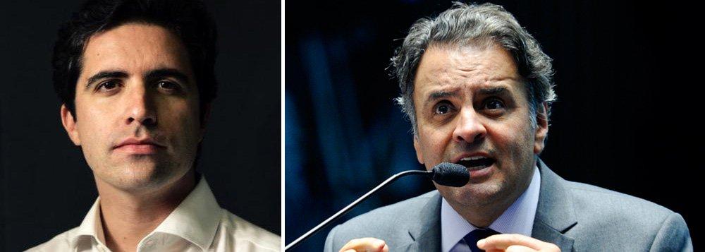 """Colunista Bernardo Mello Franco ressalta as declarações do líder do PSDB na Câmara, Carlos Sampaio, em defesa de Eduardo Cunha (PMDB) e o pedido """"recorta e cola"""" de Hélio Bicudo pelo impeachment de Dilma Rousseff, e conclui: 'Para os tucanos, a aliança com o correntista suíço é uma estratégia de alto risco'; segundo ele, nos últimos anos, o PSDB, de Aécio Neves, pediu votos pregando a ética na política; """"Ao abraçar Cunha, pode acabar sem impeachment e sem discurso para as próximas eleições"""", diz"""