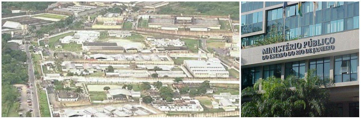 Agentes do MP-RJ, da inteligência da PM e do Sistema Penitenciário (Sispen) deflagraram a Operação Conexão Penha, para desarticular uma quadrilha que comandava o tráfico de drogas em Teresópolis, na Região Serrana do estado, a partir do Complexo Penitenciário de Bangu, na zona oeste da capital; asinvestigações mostram que os acusados atuam de dentro do complexo de Bangu, onde coordenam a distribuição de cocaína, maconha, drogas sintéticas e armas para o município de Teresópolis; traficantes da cidade do Rio e da Região Serrana também são alvos da operação