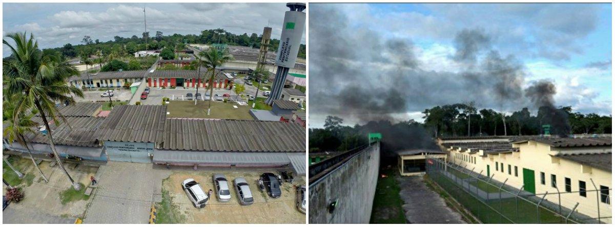 """Peritos do MNPCT (Mecanismo Nacional de Prevenção e Combate à Tortura), órgão ligado ao Ministério da Justiça, avaliam que a gestão terceirizada do Complexo Penitenciário Anísio Jobim (Compaj), em Manaus, foi um dos fatores que facilitou o massacre que deixou 56 mortos, uma vez que isso """"distancia ainda mais o Estado da rotina do local""""; outro fator teria sido a divisão dos detentos por facções criminosas"""