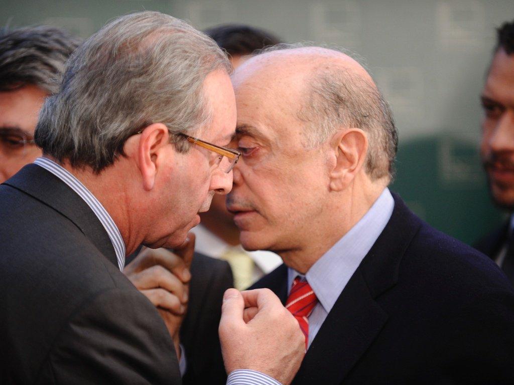 Temer, o conspirador, Cunha, o réu, e José Serra comandam um golpe contra a democracia e contra os beneficiários de programas sociais; são artífices de um golpe contra a Justiça