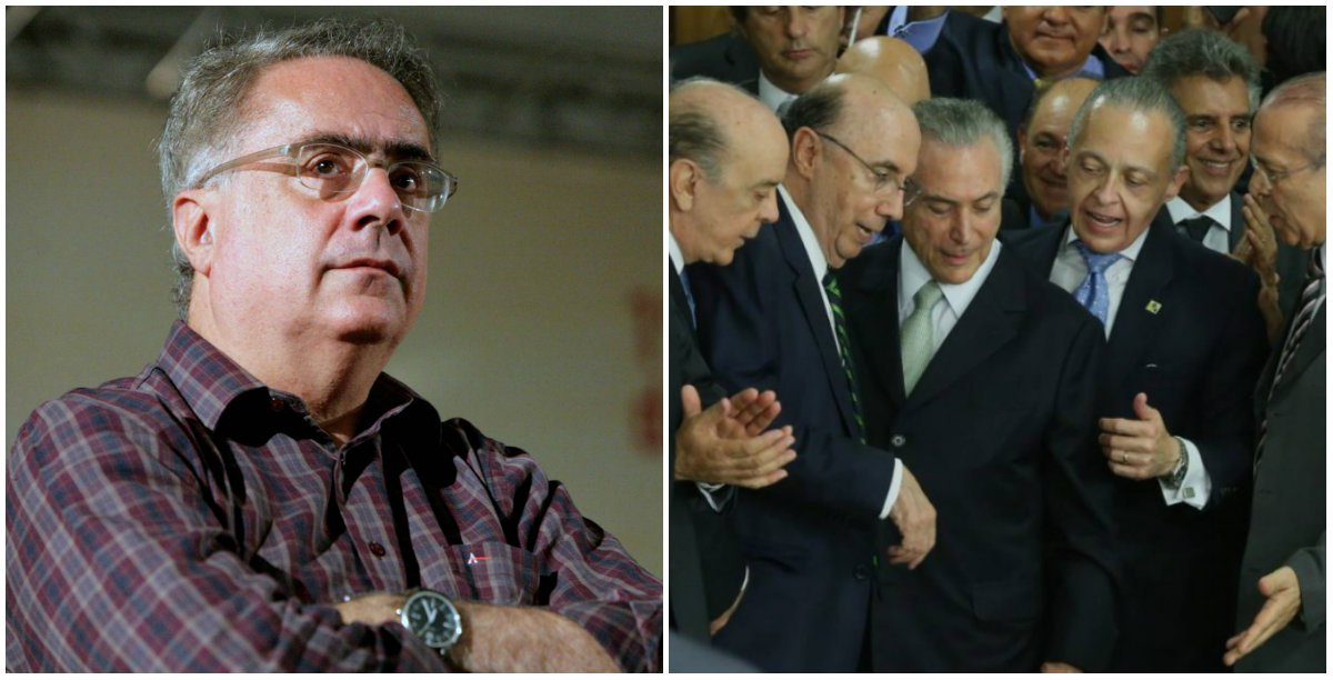 """""""O grupo que assumiu o poder não tem projeto algum. Na ponta do PMDB montou o maior assalto ao poder desde o governo Sarney. Na ponta do mercado, um grupo de economistas que se move exclusivamente por bordões ideológicos e visão de curtíssimo prazo. São a contrapartida do mercado à superficialidade desenvolvimentista de um Guido Mantega. Já o ex-PSDB tornou-se um partido de direita tosca, perdendo qualquer capacidade de planejamento do futuro"""", analisa o jornalista"""