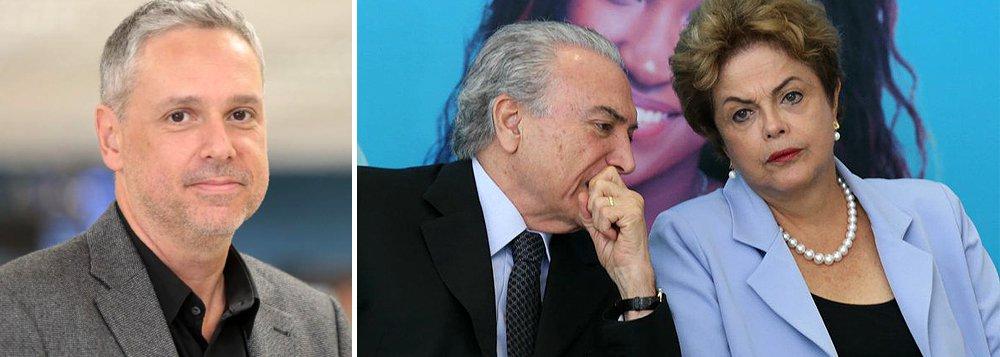 'Renunciar Temer não vai. Nem Dilma. Restaria, assim, só a cassação da chapa Dilma/Temer pela Justiça para que houvesse nova eleição. Como se sabe, se o cargo ficar vago depois de ultrapassada a metade do mandato presidencial, cabe a um mistão de deputados e senadores escolher o novo presidente. Se para manter Michel Temer no poder eles já conseguiram nomear quase todo o Ministério, com os respectivos cargos de segundo e terceiro escalão, imagine-se quais façanhas não alcançariam se pudessem renegociar seus votos com o biônico?', diz José Roberto de Toledo, seguindo a tese de Tereza Cruvinel