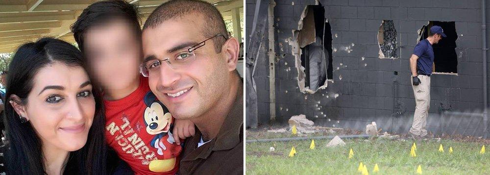 Mulher de Omar Mateen, o atirador que matou 49 pessoas e feriu mais de 50 na boate Pulse, em Orlando, na Flórida, sabia dos planos do marido para o ataque; por isso, a mulher - Noor Salman - poderá ser acusada em breve de participação no massacre de Orlando, o maior atentado a tiros da história moderna dos Estados Unidos.
