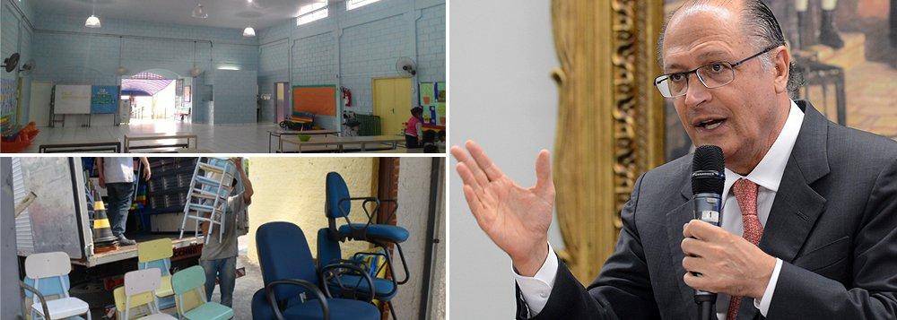Secretaria de Educação do Estado de São Paulo informou que haverá uma reorganização no ensino público estadual, de forma que as escolas tenham apenas um ciclo de ensino; das 94 unidades que fecharão as portas, 66 ficarão à disposição das cidades para uso de Educação de Jovens e Adultos (EJA), Centro Educacional Unificado (CEU) ou creche; cerca de 340 mil alunos terão que trocar de escola;decisão tem provocado diversas manifestações de estudantes paulistas