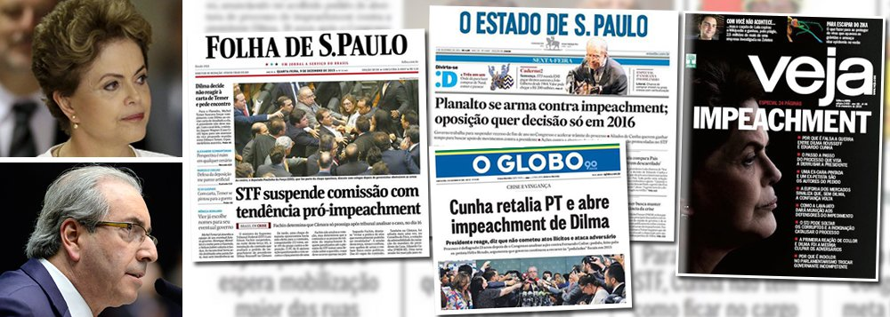 """Para Marcelo Zero, colunista do 247, """"o que impulsa o golpe é o fígado doído dos ressentidos e dos derrotados em 2014; não o cérebro equilibrado de bons juízes. Tudo não passa de teatro burdo""""; e a encenação pode se sustentar, segundo ele, com """"o papel da nossa mídia partidarizada, nosso autodefinido grande partido de oposição""""; """"Para a legião de microcéfalos políticos gerados por essa mídia-zika, o golpe prescinde, na realidade, de justificativa. O golpe precisa somente de pretextos, por mais frágeis e confusos que sejam. O golpe prescinde da verdade"""", escreve Zero; """"O impeachment de Cunha e da mídia-zika é, sobretudo, um golpe contra a verdade"""", completa; leia a íntegra"""