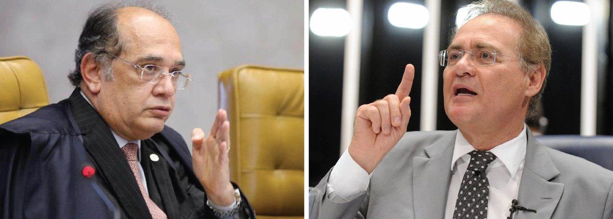"""Presidente do TSE disse ter solicitado ao presidente do Senado, Renan Calheiros (PMDB-AL), que ponha em votação o projeto de lei que estabelece punições mais duras para casos de """"abuso de autoridade""""; de acordo com o ministro, a proposta """"nada tem a ver"""" com a Lava Jato; projeto determina penas para autoridades que divulgarem, """"antes de instaurada a ação penal, relatórios, documentos ou papeis obtidos como resultado de interceptação telefônica, de fluxo de informação informática ou telemática (...) de escuta ambiental"""""""