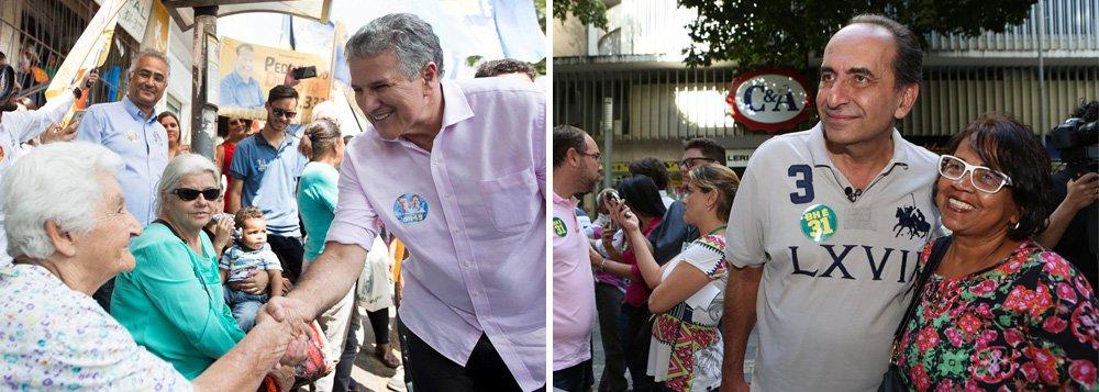 Pesquisa Datafolha divulgada nesta quinta (22) aponta João Leite (PSDB) com 33% na disputa pela prefeitura de Belo Horizonte; em segundo lugar aparece Alexandre Kalil (PHS) com 21%; Délio Malheiros (PSD) tem 6%; Reginaldo Lopes (PT) soma 4% e Rodrigo Pacheco (PMDB) chega a 3%; o Datafolha também simulou o segundo turno com os nomes dos dois primeiros colocados na pesquisa: João Leite teria 48% e Kalil teria 31% das intenções de voto