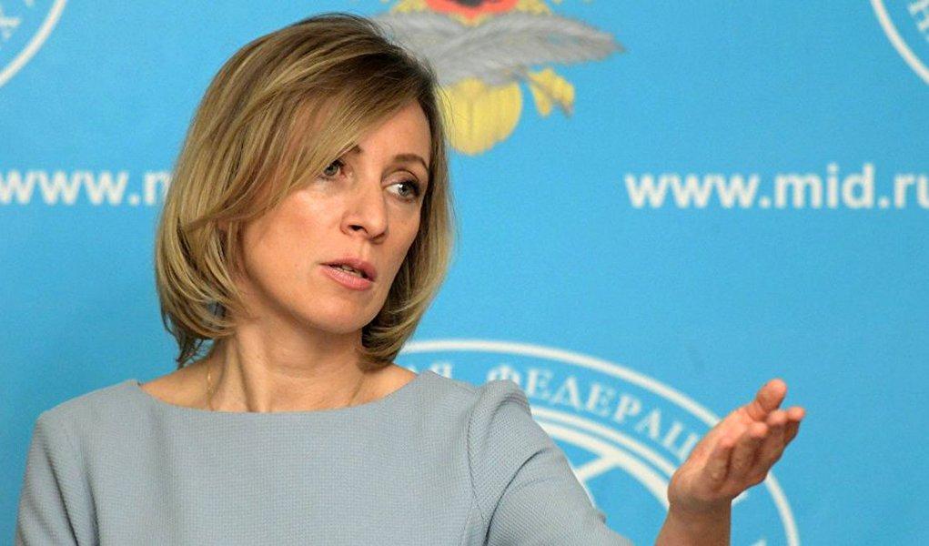 A declaração oficial por parte do Ministério das Relações Exteriores da Rússia sobre as contramedidas norte-americanas será feita nesta sexta-feira (30), comunicou a representante oficial da chancelaria russa, Maria Zakharova