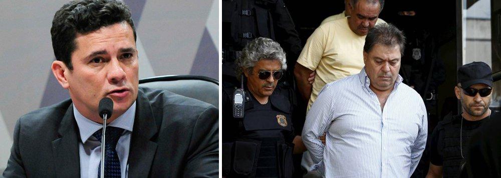 Também foram condenados pelo juiz da Lava Jato, no mesmo processo, o empreiteiro Léo Pinheiro, da OAS, a 8 anos e 2 meses de prisão e o empreiteiro Ricardo Pessoa, da UTC, que recebeu pena de 10 anos e 6 meses; Argello é acusado pelos crimes de corrupção passiva, lavagem de dinheiro e obstrução à investigação de organização criminosa; a denúncia diz que ele cobrou R$ 5 milhões a cada empreiteira envolvida no esquema de corrupção na Petrobras para barrar a indicação de seus executivos na CPI da Petrobras; na mesma decisão, o juiz Sérgio Moro impôs a Argello um confisco de R$ 7,35 milhões além de uma indenização no mesmo montante