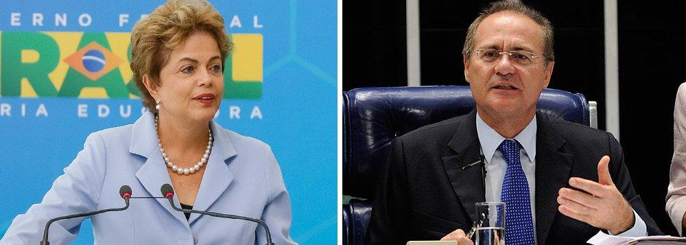 """Clima de reaproximação entre a presidente Dilma Rousseff e o presidente do Senado, Renan Calheiro (PMDB), é cada vez mais claro; Dilma afirmou nesta terça-feira, 11, que as medidas propostas por Renan coincidem com as propostas do governo;""""Nós olhamos essas 27 propostas com grande interesse e valorizamos muito a presença delas. Eu acho que essa sim é a agenda positiva para o país"""", afirmou; """"Mostra por parte do Senado uma disposição de contribuir para o Brasil sair das suas dificuldades o mais rápido possível"""""""