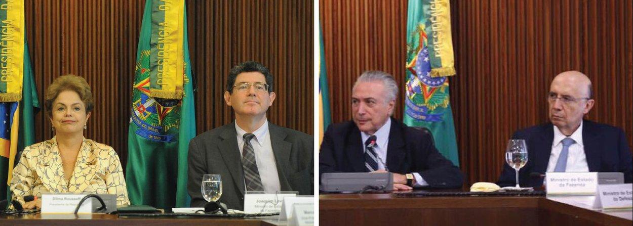 """""""O anúncio pelo ministro Henrique Meirelles de uma meta fiscal com déficit de R$ 139 bilhões de déficit em 2017 revela o tamanho do estrago causado pela crise política no Brasil. De 2011 a 2013, nos três primeiros anos de governo da presidente Dilma Rousseff, o Brasil acumulou superávits primários de R$ 258,7 bilhões. A curva se inverteu em 2014 quando se cavou o primeiro rombo, de R$ 17,2 bilhões"""", diz Leonardo Attuch, editor do 247; """"No entanto, essa tendência poderia ter sido abortada no primeiro ano do segundo mandato, se o ajuste fiscal proposto pelo então ministro Joaquim Levy não tivesse sido sabotado não apenas pelas forças políticas interessadas no impeachment, como também pela própria base de Dilma""""; ele lembra que Temer promove banquetes antes de iniciar sua prometida dieta"""