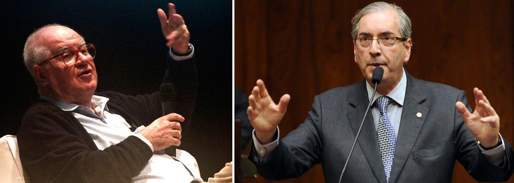 """Segundo o colunista Elio Gaspari, 'no jogo das pautas-bomba na Câmara, sob o comando de Eduardo Cunha (PMDB) há a oposição a Dilma, mas um pedaço da contrariedade vem do trabalho da Lava Jato'; """"Há dois fenômenos em curso. O primeiro, visível, é a rejeição a Dilma Rousseff e ao PT. O segundo, encapuzado, é uma tentativa de botar fogo num circo onde o Ministério Público e o Judiciário estão na jugular da oligarquia política e empresarial do país"""""""
