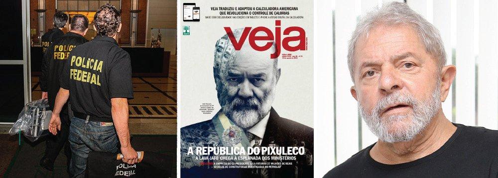 Polícia Federal vai abrir um inquérito para investigar o vazamento de dados bancários do ex-presidente, obtidos de um relatório doConselho de Controle de Atividades Financeiras (Coaf), publicado em reportagem da Veja desta semana; de acordo com o relatório, a LILS, empresa de palestras de Lula, faturou R$ 27 milhões desde que ele deixou a presidência da República; destes, cerca de R$ 10 milhões teriam vindo de empresas investigadas na Lava Jato; em reunião com Lula no último sábado, Dilma considerou grave o vazamento de um relatório do Coaf, órgão do Ministério da Fazenda; segundo o colunista Kennedy Alencar, a PF deverá apurar qual investigação pediu tais dados, a fim de esclarecer se houve justificativa para a quebra do sigilo bancário e fiscal do ex-presidente