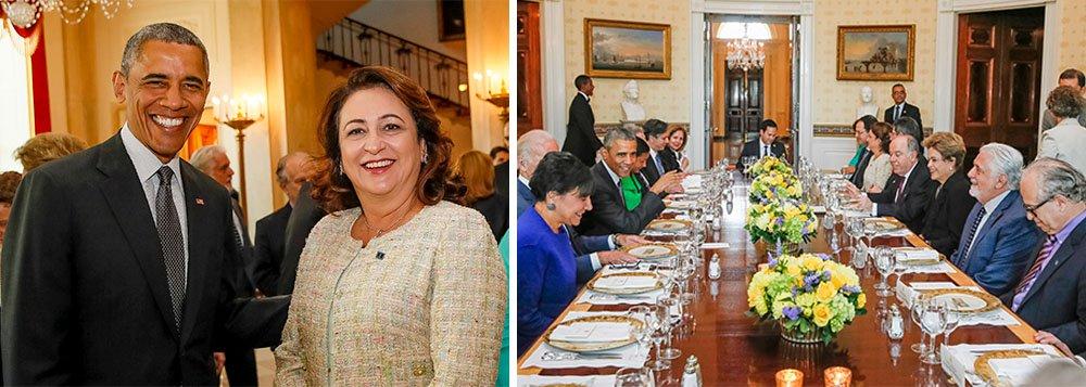 """Acompanhando a presidente Dilma Rousseff nas reuniões com o presidente Barack Obama nessa quarta-feira, 30,a ministra da Agricultura, Kátia Abreu comemorou a declaração conjunta dois dois países, de dobrar o uso de biocombustíveis e energia renovável e o comércio com os EUA em dez anos; """"Vejo a inclusão do etanol e da bioeletricidade nas discussões como uma política clara do governo brasileiro de fortalecimento do setor e do fomento de comércio internacional de biocombustíveis"""", disse a ministra; Dilma disse que o Brasil busca atingir uma participação de 28% a 33% de fontes renováveis na matriz energética, sem contar a geração hidráulica, até 2030"""