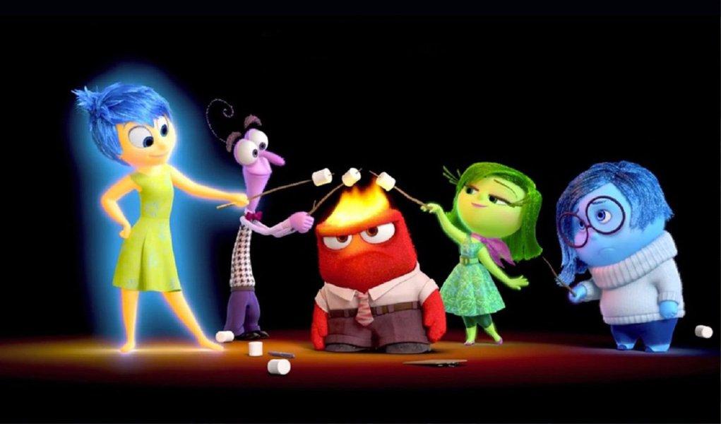 Último lançamento da Pixar traz uma analogia às emoções humanas, buscando no olhar de uma criança os nossos principais sentimentos