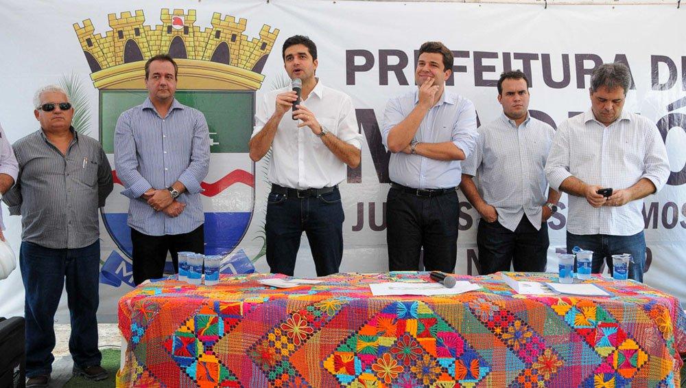 Prefeito Rui Palmeira Assina Ordem de Serviço Mirante João XXIII Foto:Marco Antônio/Secom Maceió