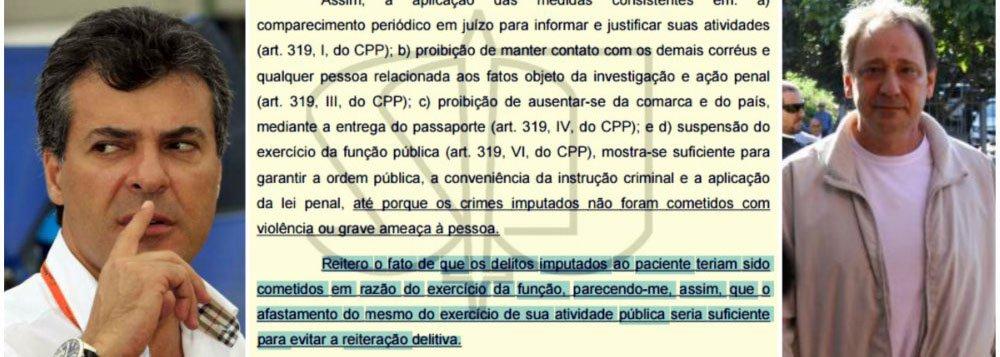 """Jornalista Fábio Silveira, no blog Baixo Clero, afirmou que o ministro Sebastião Reis Júnior, do STJ, erroneamente suspendeu o parente do governador da """"função pública"""" sem nunca tê-la exercida no âmbito do governo do estado; pelo contrário, o moço fazia lobby nas entranhas da administração pública"""