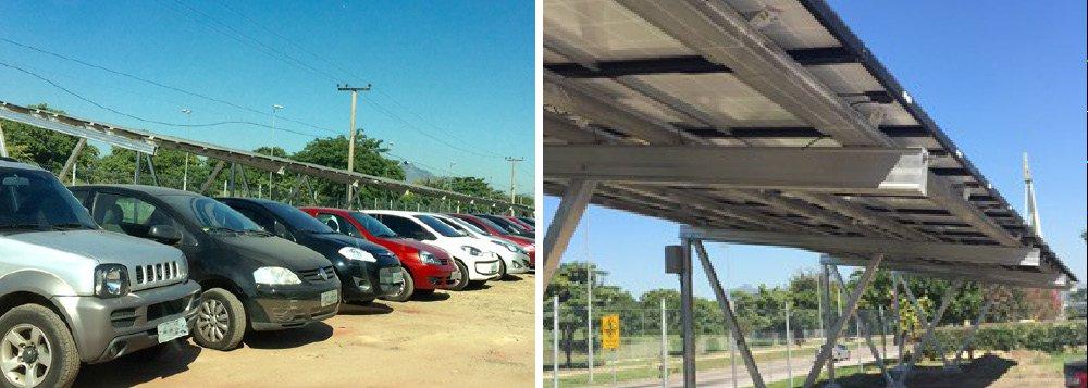 Energia solar será distribuída para todo o campus da Universidade, proporcionando uma economia de R$ 40 mil por ano na conta de luz da instituição;iniciativa é do Fundo Verde de Desenvolvimento e Energia para a Cidade Universitária da UFRJ, programa da Secretaria de Desenvolvimento Econômico do Estado, criado por decreto governamental em 2012