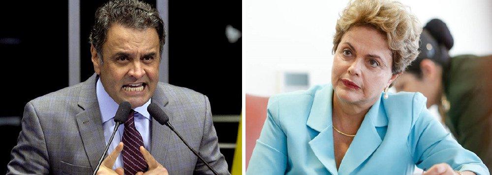 """O senador Aécio Neves, presidente nacional do PSDB, divulgou nota nesta terça (28) na qual afirma que é """"absolutamente natural"""" que a presidente Dilma Rousseff realize encontro com todos os governadores do país, inclusive os de oposição, mas disse que """"não se cogita"""" que esse tipo de iniciativa resulte em """"manifestação de apoio a esse governo""""; """"O PSDB agirá com a responsabilidade com que sempre agiu, governando bem os estados e fazendo oposição clara e firme a esse governo que tanto mal tem feito ao país, especialmente aos estados e municípios"""", disse"""