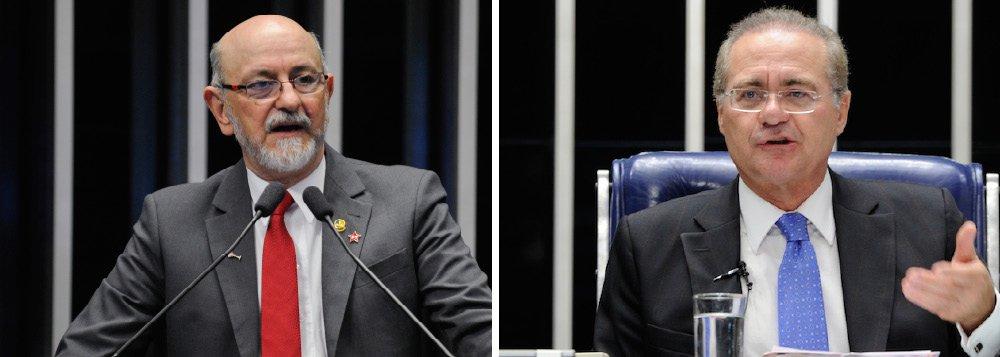 """Senador Donizeti Nogueira (PT-TO) elogiou a iniciativa da Agenda Brasil, proposta ao governo pelo presidente do Senado, Renan Calheiros (PMDB-AL); """"O Senado cumpre o seu papel de contribuir no debate e na construção de soluções dos problemas do país"""", afirmou; para Donizeti, aqueles que criticam a proposta, como o presidente da Câmara, Eduardo Cunha (PMDB-RJ), """"distorcem os fatos, ignorando a crise internacional e os esforços do governo Dilma""""; """"Vamos superar a crise com trabalho, com determinação e amor pelo país, e é o que o senador Renan Calheiros demonstrou trazendo para o debate pontos importantes para o desenvolvimento do Brasil"""", garantiu Donizeti"""