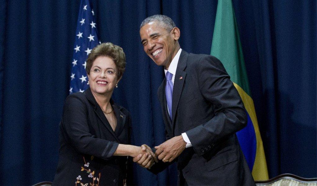 Além da reunião de trabalho com o presidente norte-americano Barack Obama, em Washington, a presidente Dilma terá compromissos com empresários em Nova York e visitas à sede do Google, ao Centro de Pesquisas da Nasa e à Universidade Stanford, na Califórnia; esta é a primeira viagem de Dilma aos Estados Unidos após as denúncias, em 2013, de que a Agência Nacional de Segurança dos Estados Unidos teria espionado as comunicações de empresas estatais e autoridades do governo brasileiro