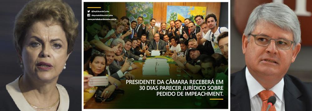 Para se safar, Cunha agora promete impeachment
