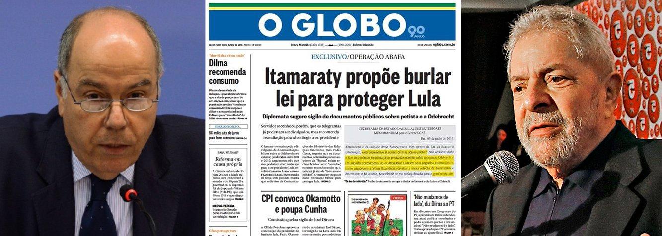 """Itamaraty: 'denúncia' do Globo é """"matéria imprecisa"""""""