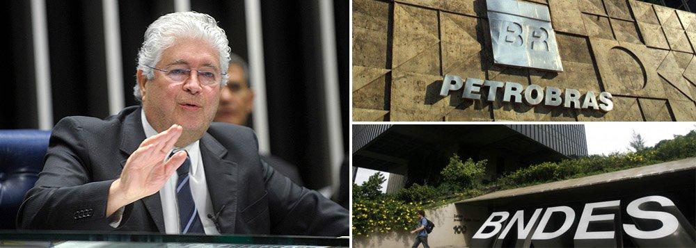 Segundo o senador Roberto Requião (PMDB-PR), a Lava Jato não pode paralisar a estatal; ele sugere umprojeto que prevê repasse de recursos do Tesouro, através do BNDES, de forma similar ao que aconteceu em 2009 e 2010, para recuperar os investimentos da Petrobrás; assim, diz, será também irrigada financeiramente toda a cadeia do petróleo, que está em plena recessão, favorecendo a retomada de crescimento do PIB