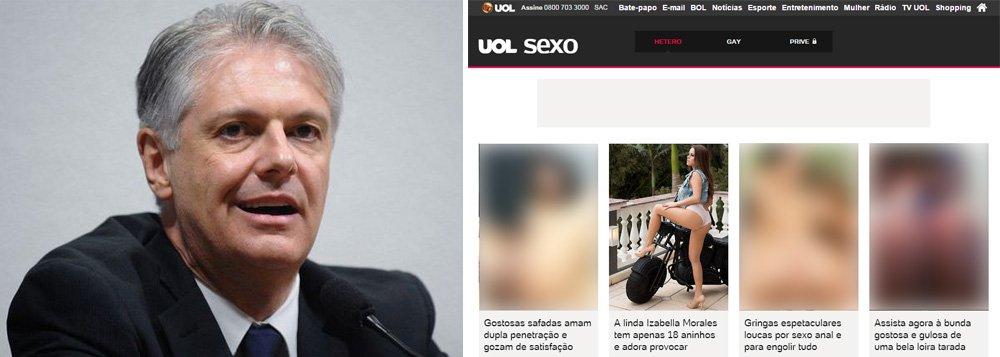 Colunista do Uol, que após ser demitido da Folha começou a prospectar clientes para lançar site concorrente ao 247, usa informações falsas para questionar investimentos publicitários em sites de notícias;ele também não menciona que audiência do Uol, que o emprega, é turbinada por canais de pornografia explícita