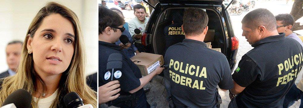 """Carolina Oliveira afirma em comunicado que, na nova fase da Operação Acrônimo, da Polícia Federal, """"foram divulgados indevidamente os dados do sigilo fiscal da Oli Comunicação Imagem Eireli, obtidos na primeira busca e apreensão, questionada anteriormente"""" e esclarece novos fatos a respeito de sua empresa"""