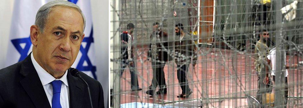 """Para o governo de BenjaminNetanyahu, a possibilidade de que um prisioneiro palestino morra na prisão em consequência da greve de fome representa um risco à imagem do Estado no exterior; segundo o ministro de Segurança Publica, Gilad Erdan, a greve de fome dos prisioneiros palestinos é um """"atentado suicida"""" contra Israel; """"Não permitiremos que os prisioneiros morram em nossas cadeias"""", afirmou o ministro, membro do partido governista Likud"""