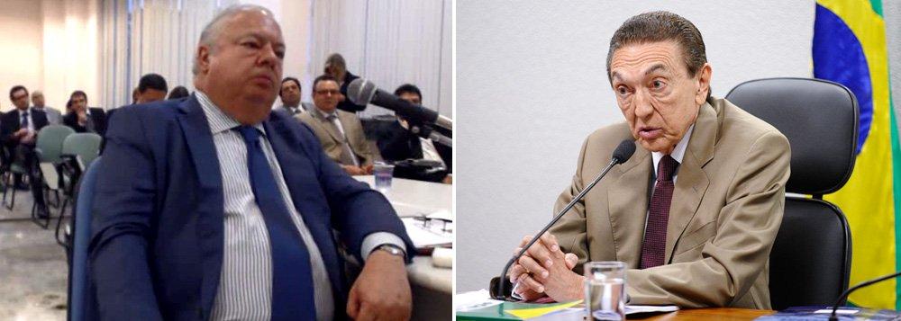 Em depoimento, lobista Júlio Camargo disse que o então ministro de Minas e Energia, Edison Lobão (PMDB-MA), tentou dissuadir o presidente da Câmara, Eduardo Cunha (PMDB-RJ) de cobrar US$ 5 milhões em troca de contrato na Petrobras; o episódio é narrado em denúncia apresentada pela PGR contra Cunha