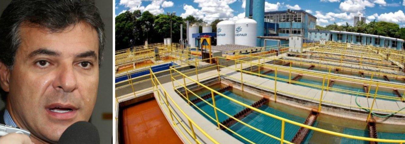 """Companhia de Saneamento do Paraná (Sanepar) anunciou que pediu uma """"revisão extraordinária"""" das tarifas de água e esgoto ao Instituto das Águas do Paraná (Ipaguas), que regula o serviço no estado; o percentual solicitado não foi divulgado, mas este será o terceiro aumento na conta de água e esgoto paga pelos paranaenses neste ano; os reajustes anteriores foram em maio (6,5%) e junho (6%) e o novo reajuste deve ser aplicado em setembro"""