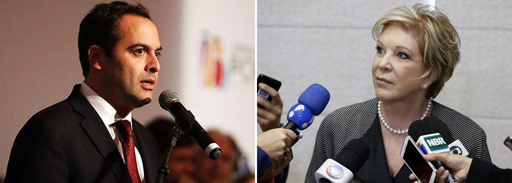 Em meio a acenos ao PMDB, a senadora Marta Suplicy (ex-PT) confirmou presença em eventos com a cúpula do PSB em Pernambuco; ela deve participar da abertura de uma feira de artesanato e de um jantar oferecido pelo governador Paulo Câmara