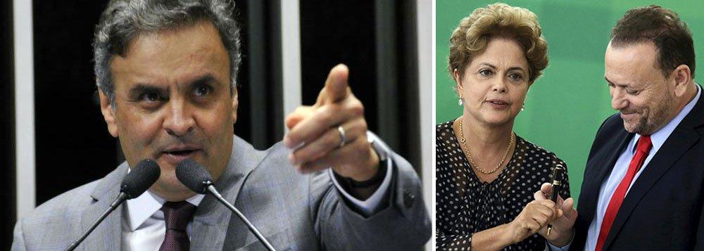 """Em seu terceiro turno sem fim, o senador Aécio Neves (PSDB-MG) fez um dos mais levianos gestos de sua carreira política, ao anunciar processo por extorsão contra a presidente Dilma Rousseff e o ministro Edinho Silva, a partir da delação premiada de Ricardo Pessoa; quem argumenta é o jornalista Paulo Moreira Leite, que vê indícios até de denunciação caluniosa; """"Não custa observar que até agora o senador não se dispôs a esclarecer as doações feitas pelo empresário-delator à campanha de Aloysio Nunes Ferreira, em 2010, quando ele concorreu ao Senado. Aécio também poderia olhar para o próprio cofre já que, no ano passado, Pessoa lhe deu R$ 1,2 milhão a mais do que para Dilma. Eis aí um fato bom de esclarecer"""", diz PML; leia a íntegra"""