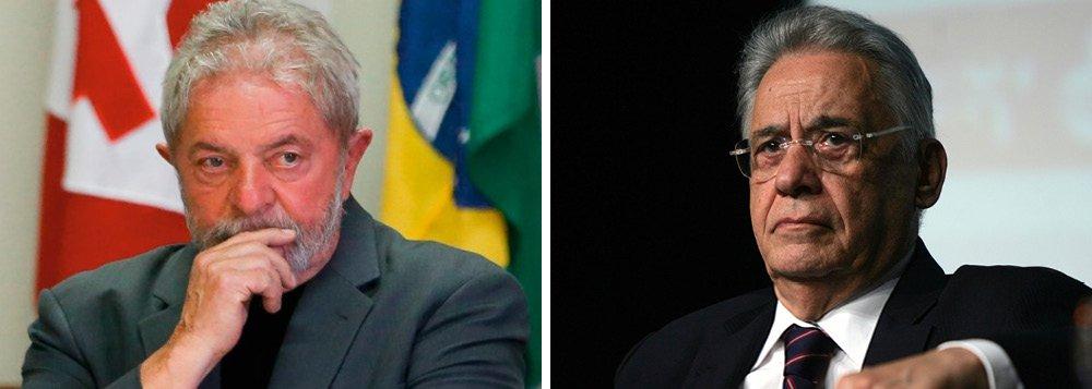 Encontro de Lula e FHC não faria mal ao país
